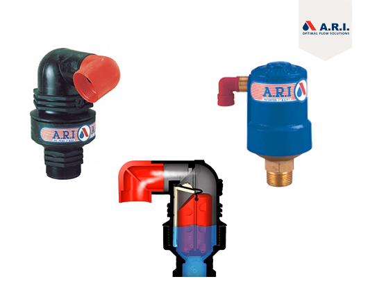 A.R.I (Air valves)