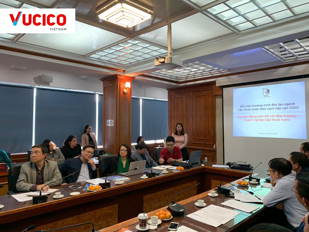 THE INNOVATION OF THE WATER SUPPLY AND DRAINAGE INDUSTRY TRAINING PROGRAM FOLLOWING THE CDIO APPROACH