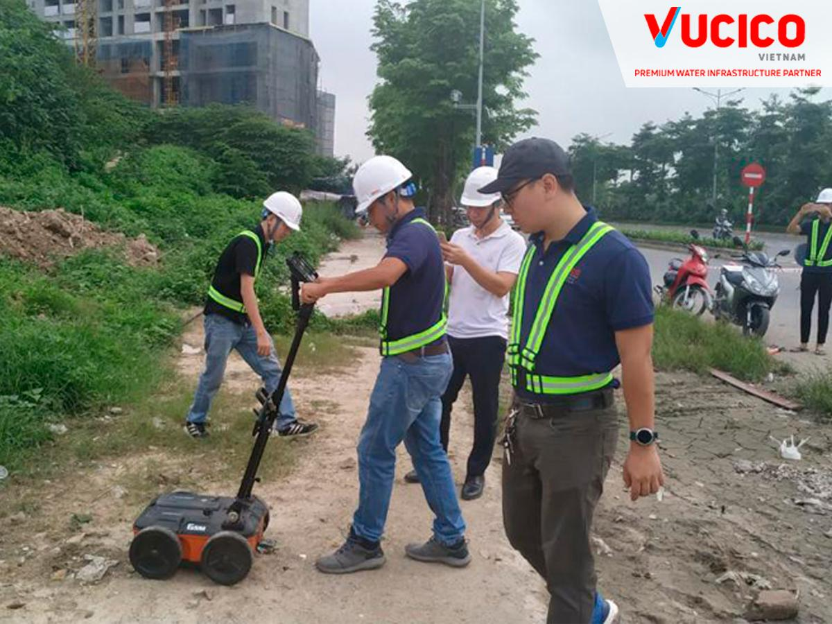 CASE STUDY: SURVEY OF UNDERGROUND CONSTRUCTIONS IN CHU VAN AN STR, THANH XUAN, HANOI