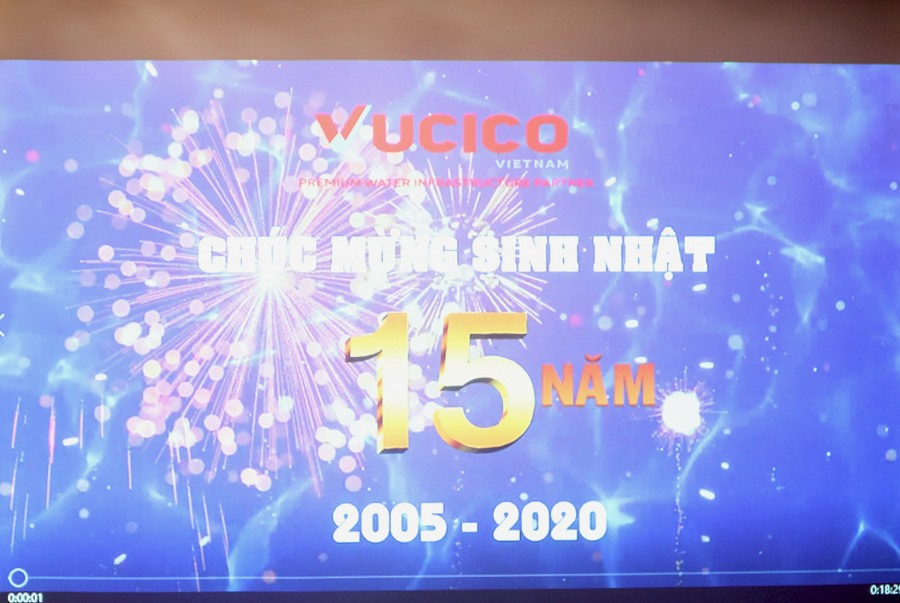 15TH BIRTHDAY OF VUCICO
