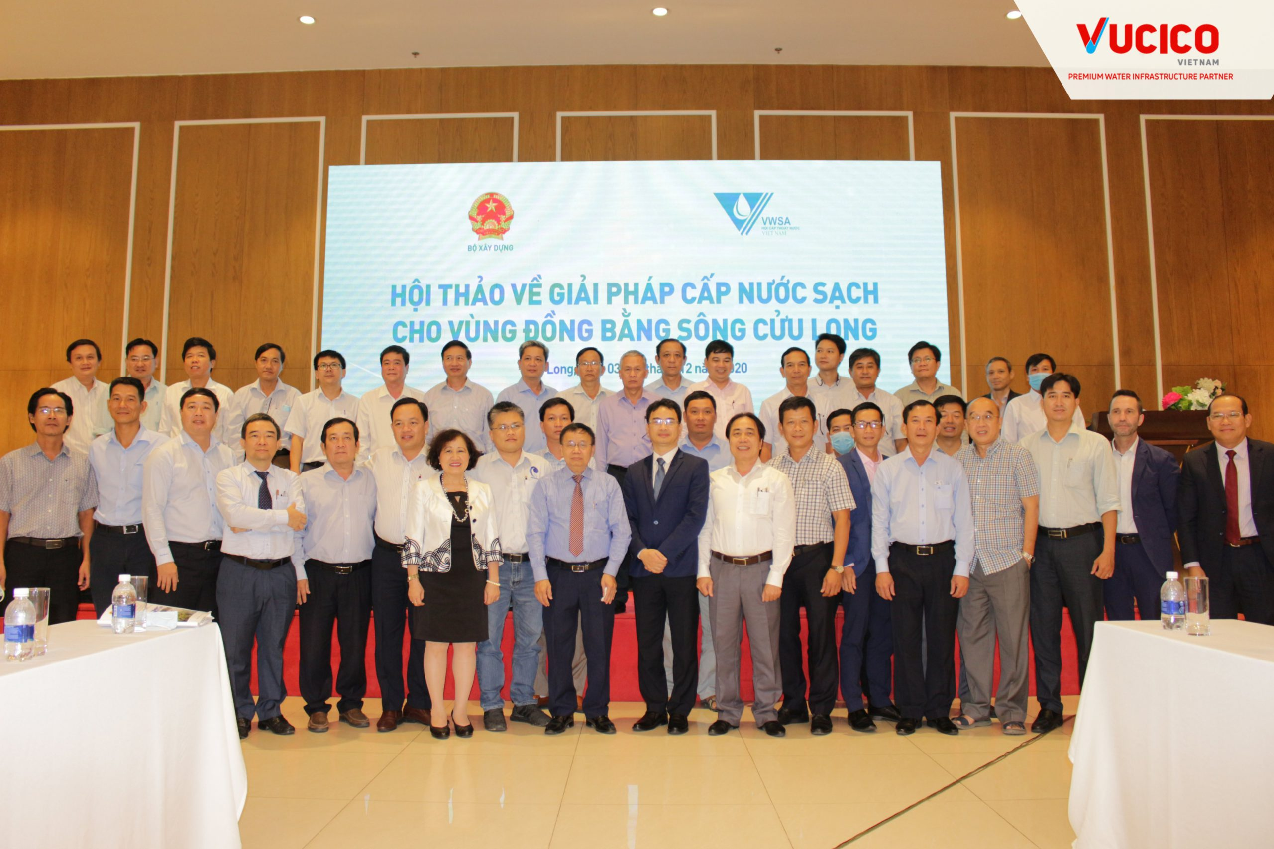 CONFERENCE ON SOLUTIONS TO SUPPLY CLEAN WATER FOR THE MEKONG DELTA