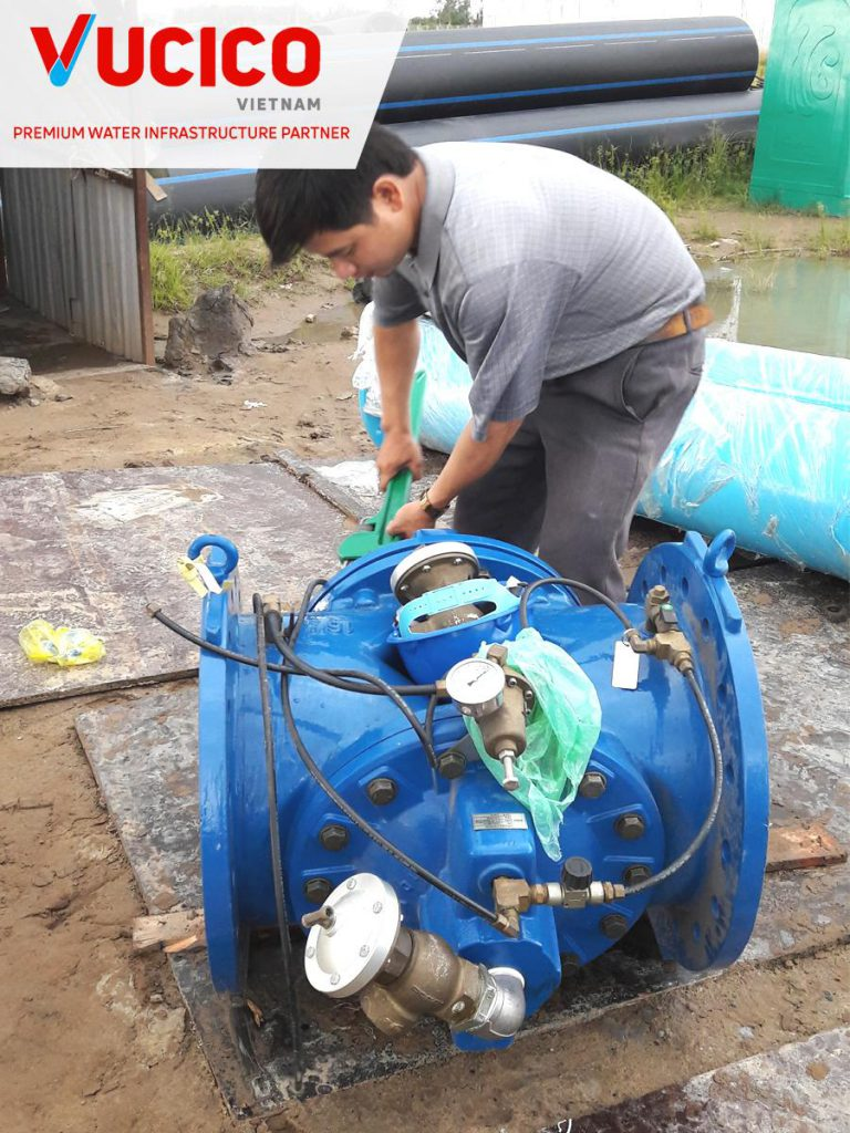 SUPPLY AND INSTALL WATER HARMMER PREVENTION VALVE FOR AQUAONE HAU GIANG FACTORY