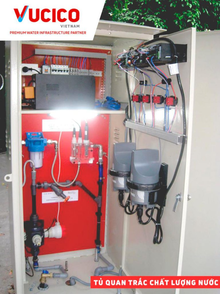 SUPPLY AND INSTALLATION MEASURING CABINETS OF RESIDUAL CHLORINE, PH, TURBIDITY ONLINE