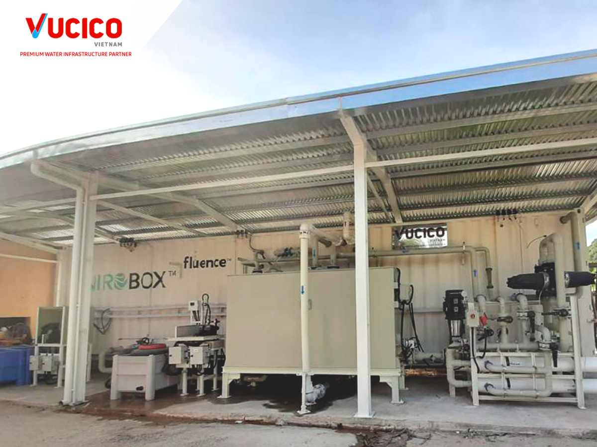 SUPPLY AND INSTALLATION OF SEAWATER TREATMENT SYSTEM IN CAI GIA WATER PLANT – CAT BA ISLAND, HAI PHONG – PHASE 1