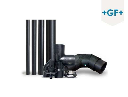 GF – Georg Fischer (HDPE pipes)