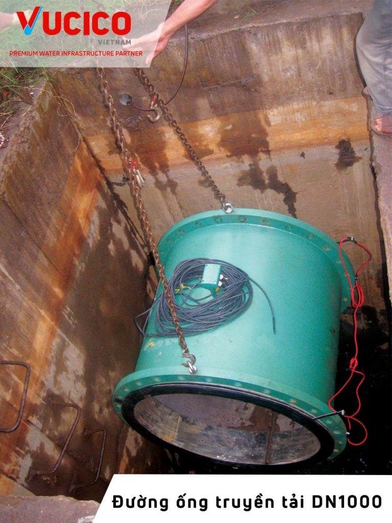 ELECTROMAGNETIC METER DN1000 INSTALLATION PROJECT