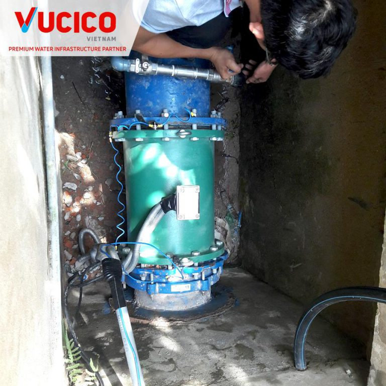 ELECTROMAGNETIC METER ISOMAG (USING ELECTRIC) SUPPLY AND INSTALLATION PROJECT IN NINH THUAN