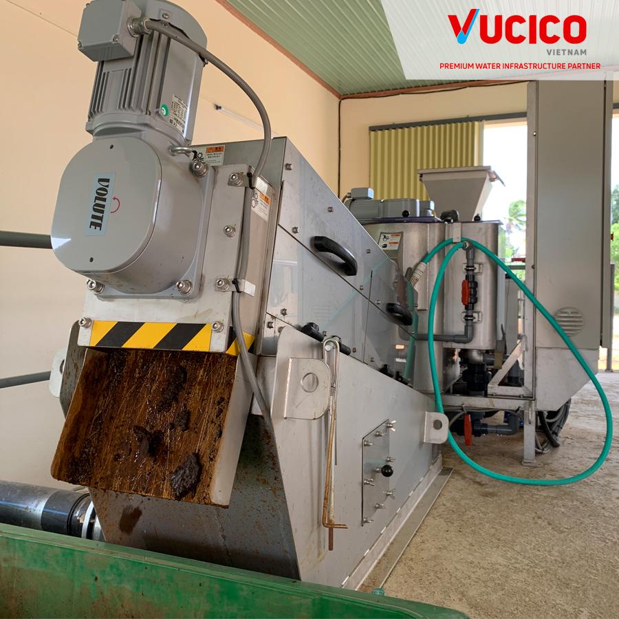 hệ thống xử lý bùn