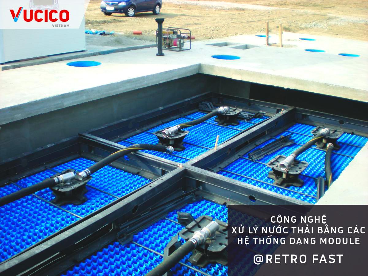Công nghệ xử lý nước thải bằng vi sinh RetroFast